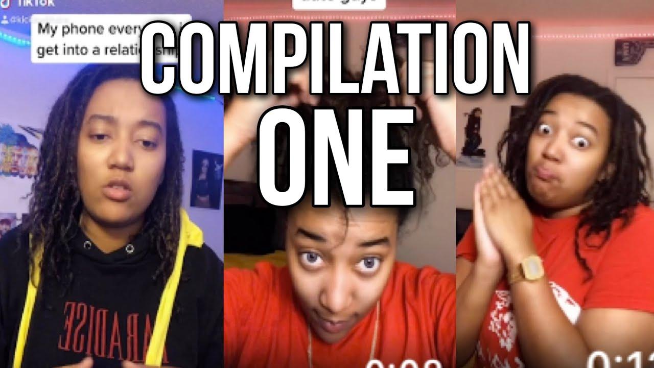 Download LGBTQ Lesbian TikTok Compilation #1 Kickitwithdre