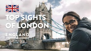 LONDON ATTRACTIONS - SOME BEST FREE THINGS TO DO | England Travel Vlog 148, 2018