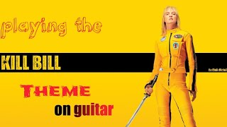 The lonely shepherd - Kill Bill vol 1 theme - Guitar Version