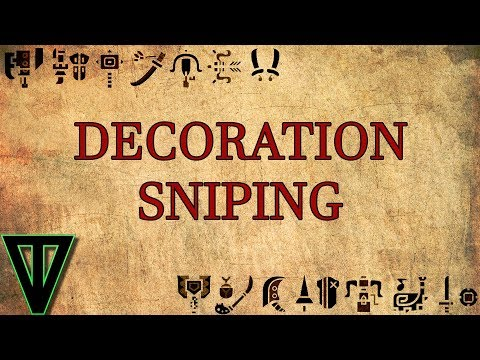 MHW: Decoration Sniping Tutorial