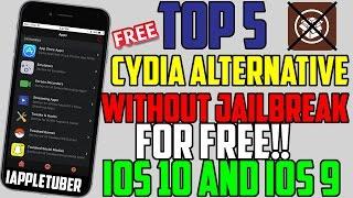 top 5 cydia jailbreak alternatives without jailbreak free on ios 10 1002 9 935