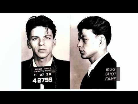Frank Sinatra 1938 Mug Shot