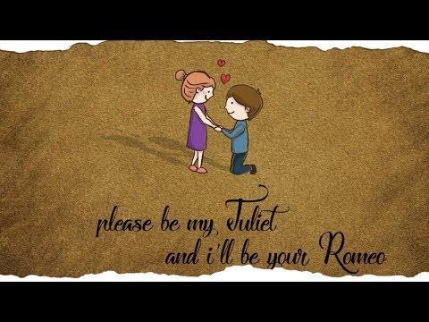 Johnny Drille - Romeo & Juliet ( Official Lyrics Video )