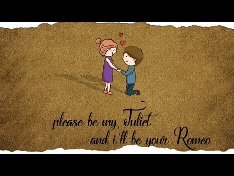 Johnny Drille - Romeo & Juliet ( Official Lyrics Video )