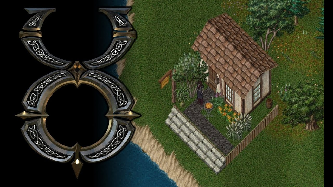 Ultima online building a custom small house youtube for Custom build house online