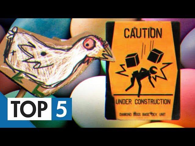 TOP 5 - Vážně vtipných easter eggů