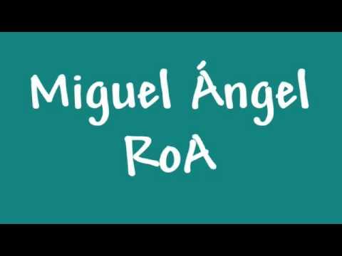 Miguel Ángel RoA - Un minuto sin ti