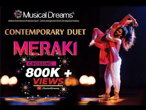 Aayat contemporary dance by Meraki - The Dancing Duet | Musical Dreams