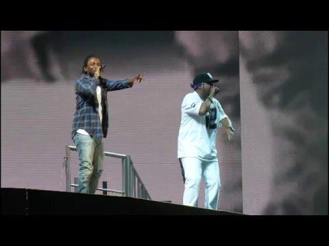 Ice Cube w/ Kendrick Lamar at Coachella 2016: Ain't That Funkin Kinda Hard On You? & Alright