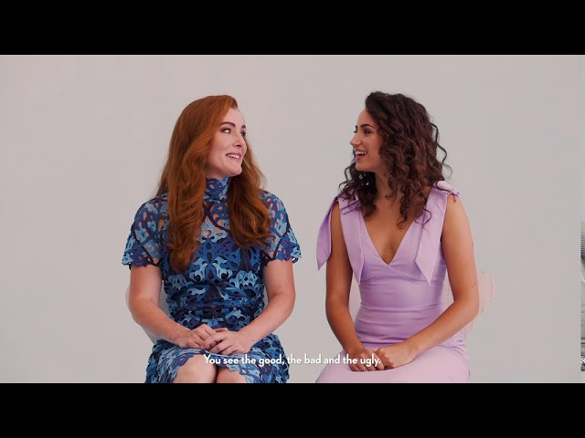 INTERNATIONAL SISTER'S DAY | with Jemma Rix and Courtney Monsma from Frozen the Musical Aus