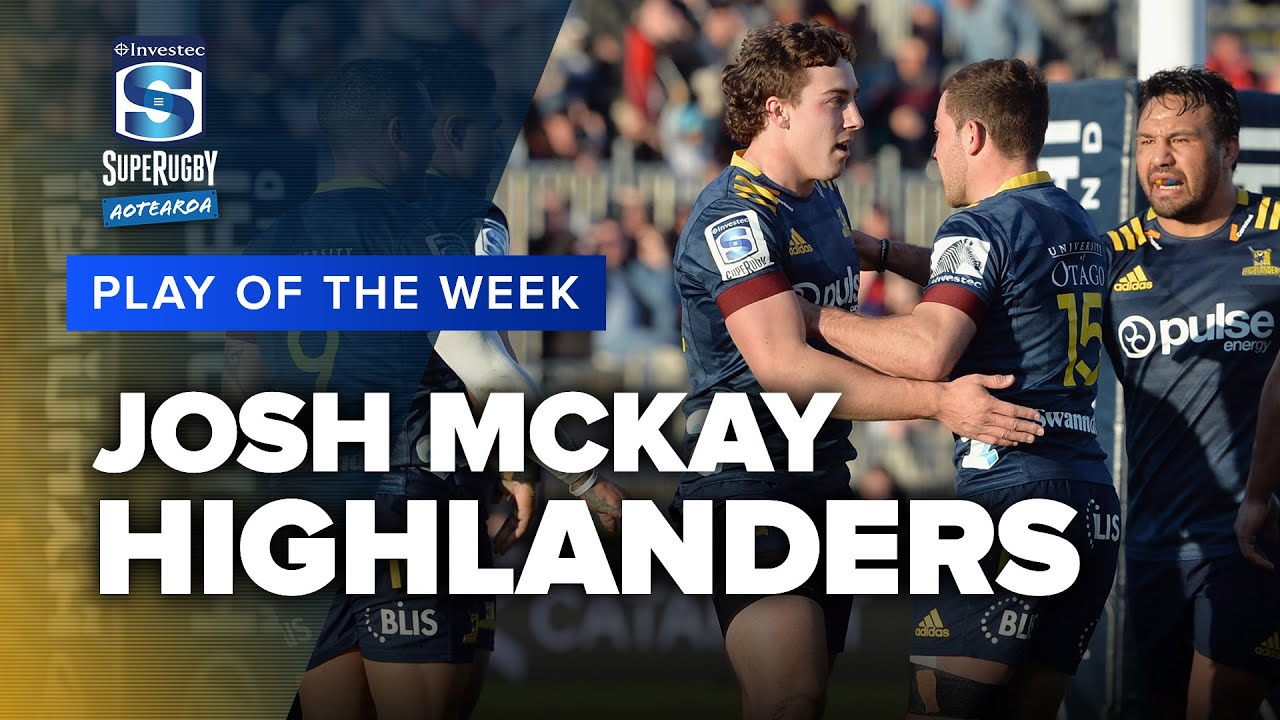 PLAY OF THE WEEK | Super Rugby Aotearoa Rd 9