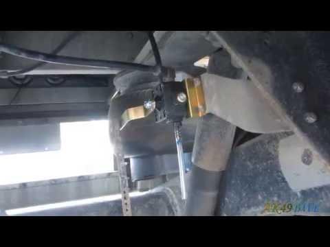 Diesel Pusher Maintenance Ride Height Valve Replacement