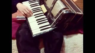 Урок игры на аккордеоне урок #1