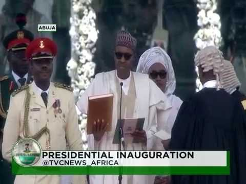Inauguration Ceremony :Swearing in of President Muhammadu Buhari