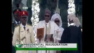 Inauguration Ceremony :Swearing in of President Muhammadu Buhari