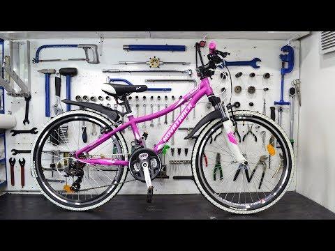 Сборка нового велосипеда из коробки. Сюрпризы которые вас ждут.