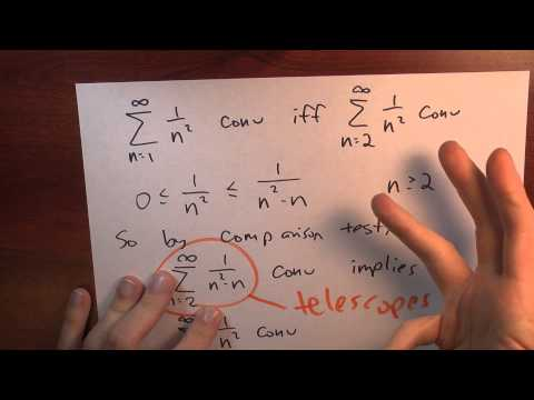 Does sum 1/n^2 converge? - Week 2 - Lecture 11 - Sequences and Series