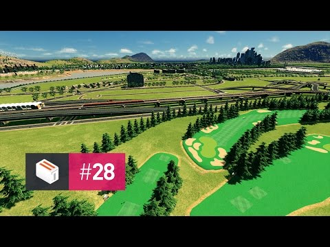 Let's Design Cities Skylines — EP 28 — Golf Course