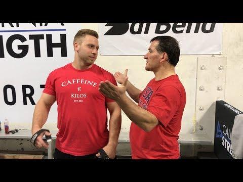 Inside Cal Strength Episode 5: Pyrros Dimas visits Cal Strength