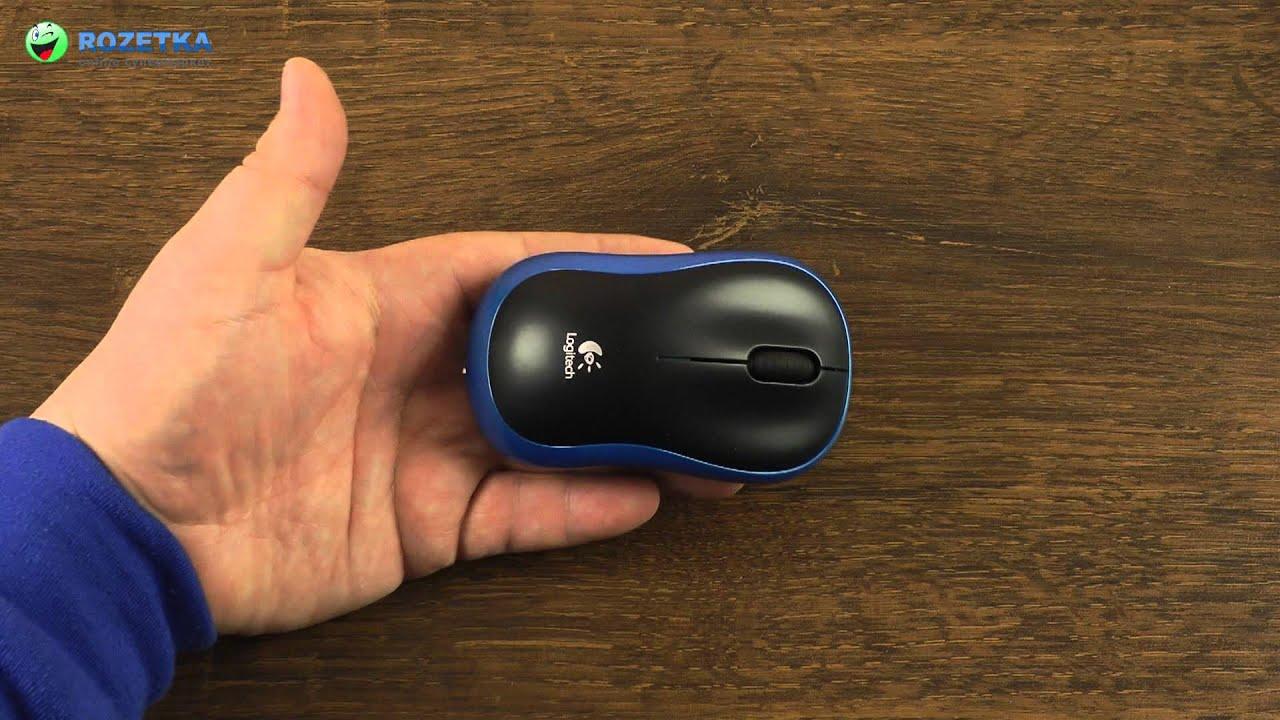 Ра�паковка logitech wireless mouse m185 blue youtube