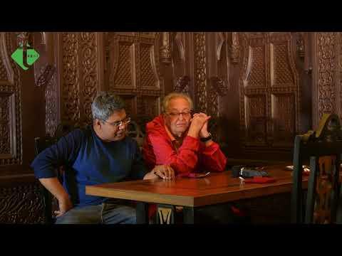 Soumitra Chatterjee and his famous 4 ghanta - ময়ূরবাহনের সাথে মাইকেল
