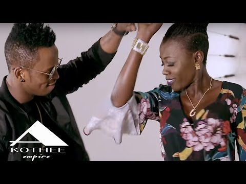 AKOTHEE FT DIAMOND PLATNUMZ - SWEET LOVE BEHIND THE SCENES
