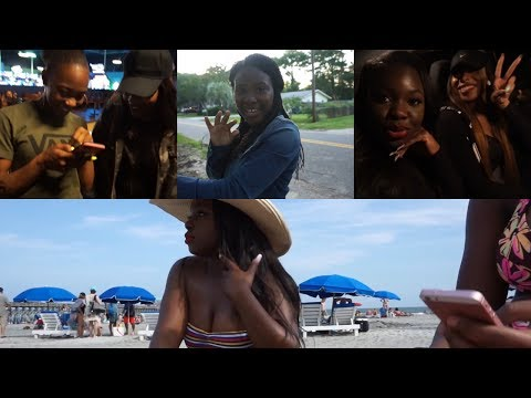 Memorial Day Weekend Travel Vlog | Midnight Bowling, Folly Island & Family