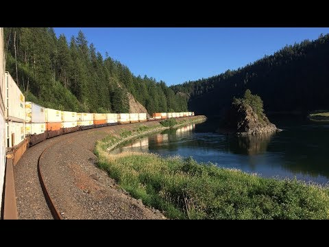 Whitefish, MT To Pasco, WA - Trainhopping The Highline