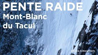 Couloir Gervasutti Mont-Blanc du Tacul Chamonix Mont-Blanc ski pente raide - 9042