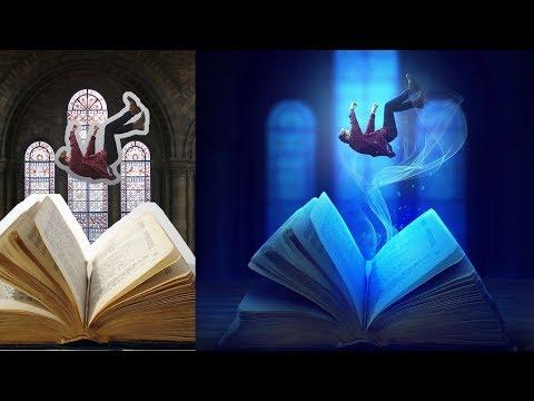 Photoshop Manipulation Story Book Levitation Processing Tutorial