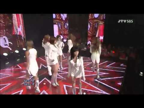 T-ara Eunjung LIVE ad-lib on stage