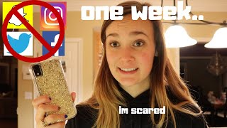 going one week without social media || emma fullen