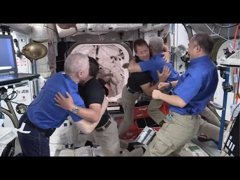 SpaceX Crew-2 astronauts enter space station after docking