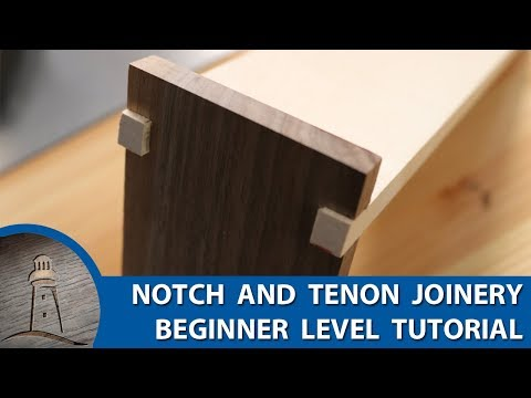 Notch and Tenon Joinery How To – Newbie Degree Joinery