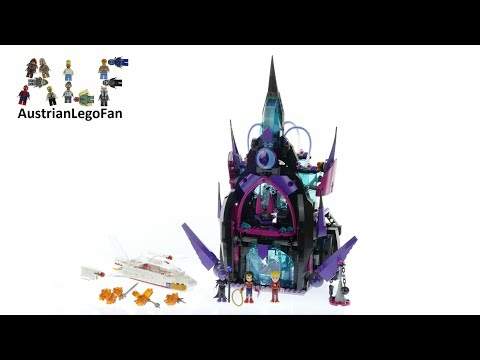 Lego DC Super Hero Girls 41239 Eclipso Dark Palace - Lego Speed Build Review