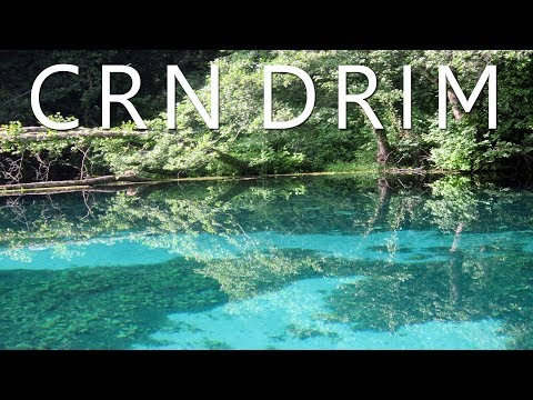 Boat ride on springs of Black Drim, Macedonia (Crn Drim)