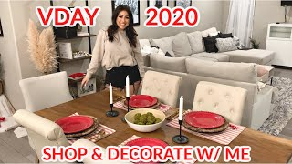 Valentine's Day 2020 HOME DECOR & DECORATE WITH ME *Minimal*