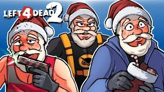 Left 4 Dead 2 - SAVING SANTA! (Xmas Mods) With Vanoss & Moo!