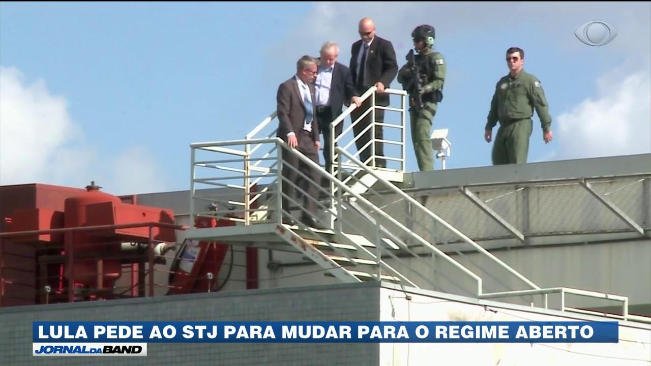Lula pede ao STJ para mudar para o regime aberto #Regime