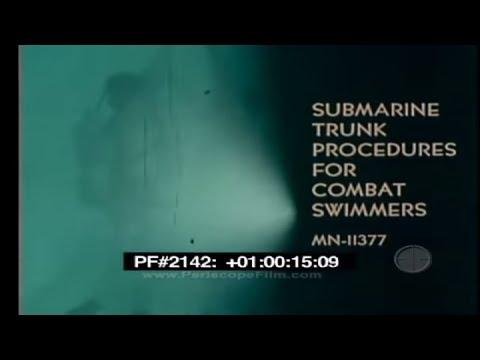 Submarine Trunk Procedures For Combat Swimmers 2142