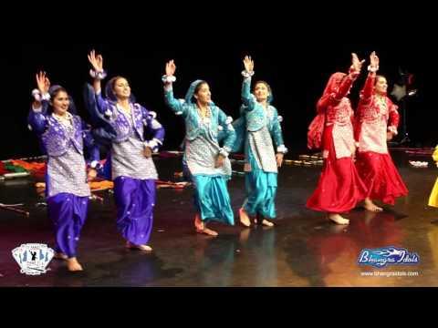 PANJ Girls @ Bhangra Idols ULTIMATE Sun.Oct.11th 2015