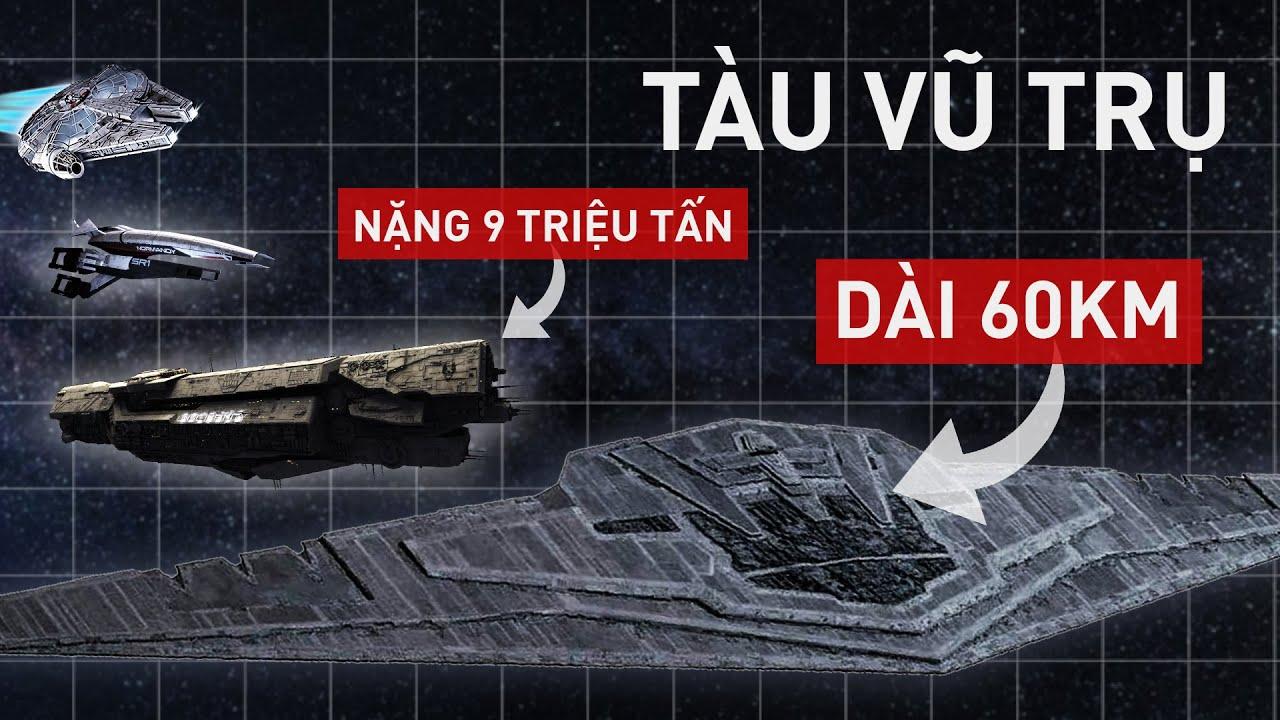 TOP tàu vũ trụ đỉnh cao nhất trong thế giới phim ảnh và game!