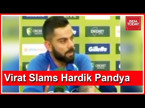 WATCH: Capt Virat Kohli Reacts To Hardik Pandya, KL Rahul Controversy