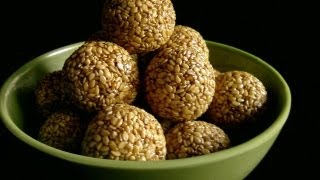 Recipe - Sesame Sweet (nuvvula Laddu) Recipe With English Subtitles