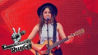 Sona Dunoyan sings 'Issues' - Blind Auditions - The Voice of Armenia - Season 4