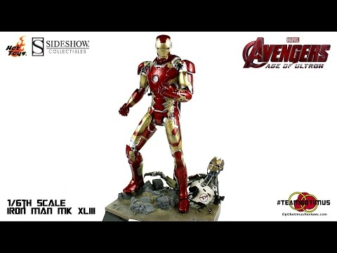 Video Review of the Hot Toys: 1/6 Iron Man MK XLIII from The Avengers Age of Ultron