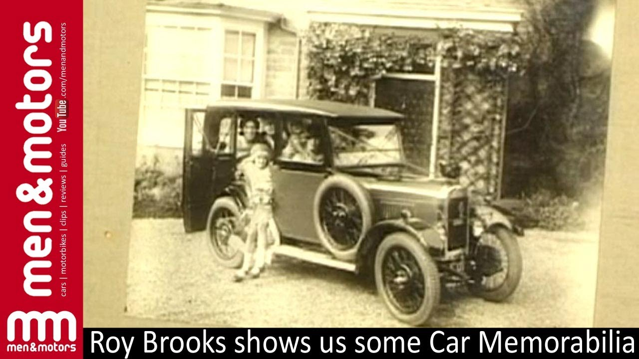 Roy Brooks\' Car Memorabilia - YouTube