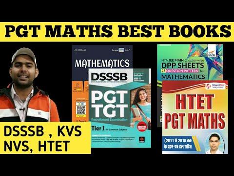 BEST BOOK OF PGT MATHS | PGT MATHS STUDY MATERIAL | सभी PGT MATHS EXAM  के लिए एक ही BOOK |
