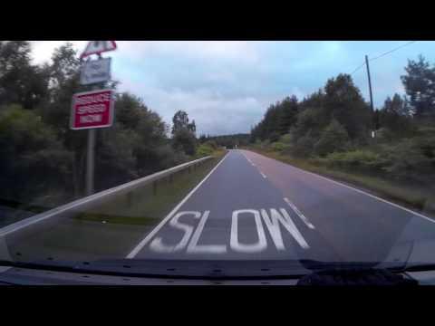 QQLX0261 - Scotland - Laggan - Spean Bridge - Road A86 Driving through