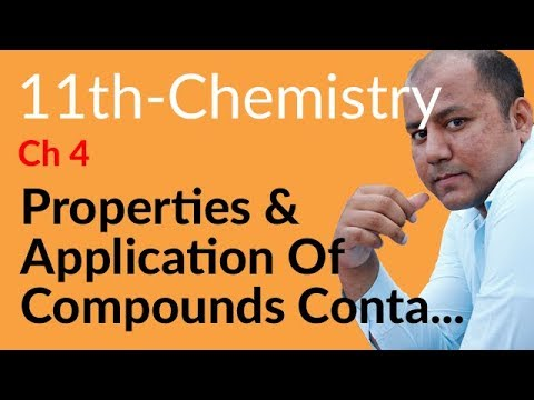 First Year Chemistry,Application Compounds Hydrogen Bonding-Che book 1 Ch 4 Liquids & Solids